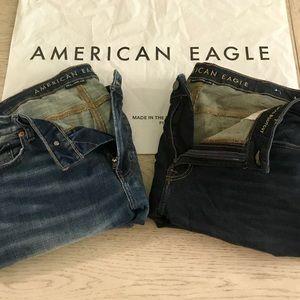 Men's American Eagle NEXT Bootcut Jeans 38x32 BOGO